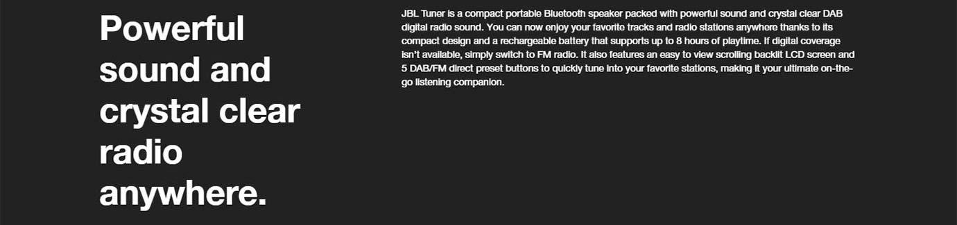 JBL Tuner