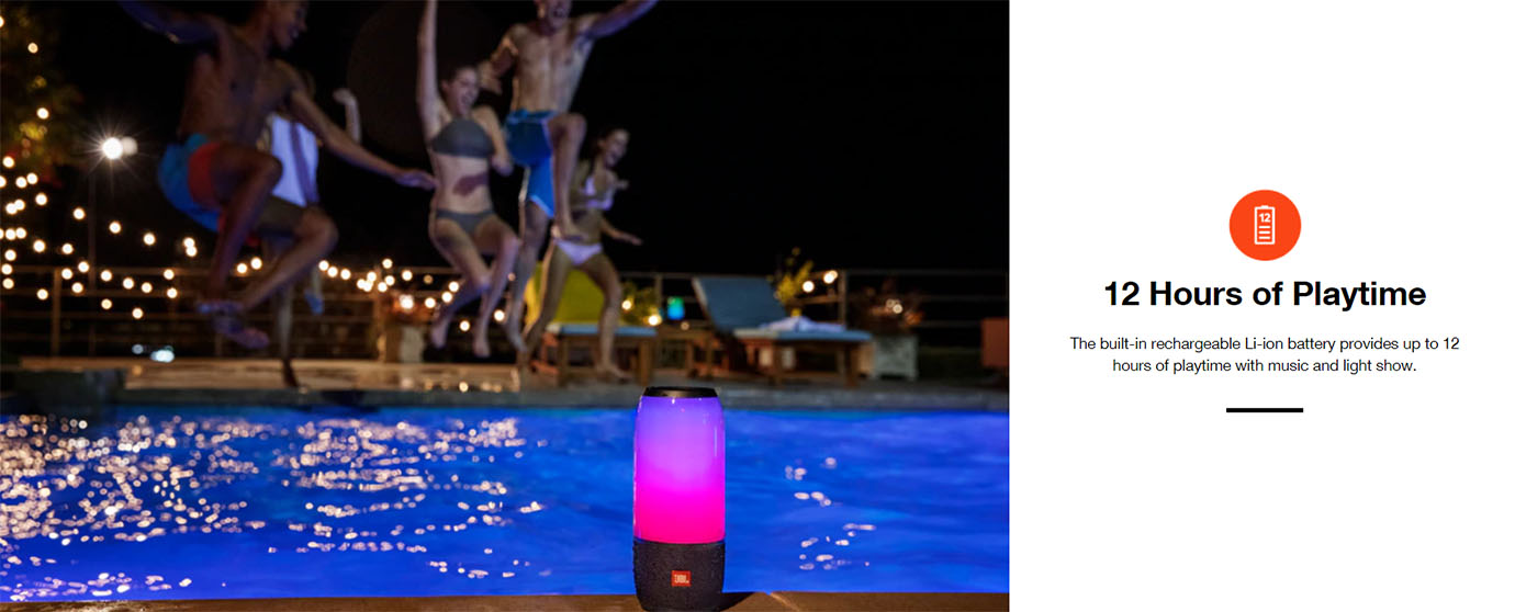 JBL Pulse 3 Portable Bluetooth Speaker