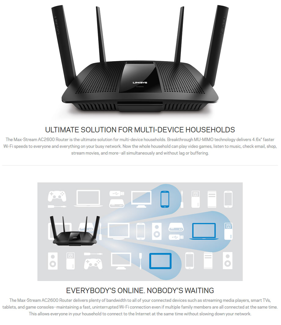 linksys ea8500 feature