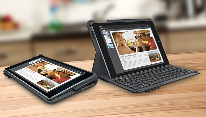 logitech type+ 2in1 design ipad air 2