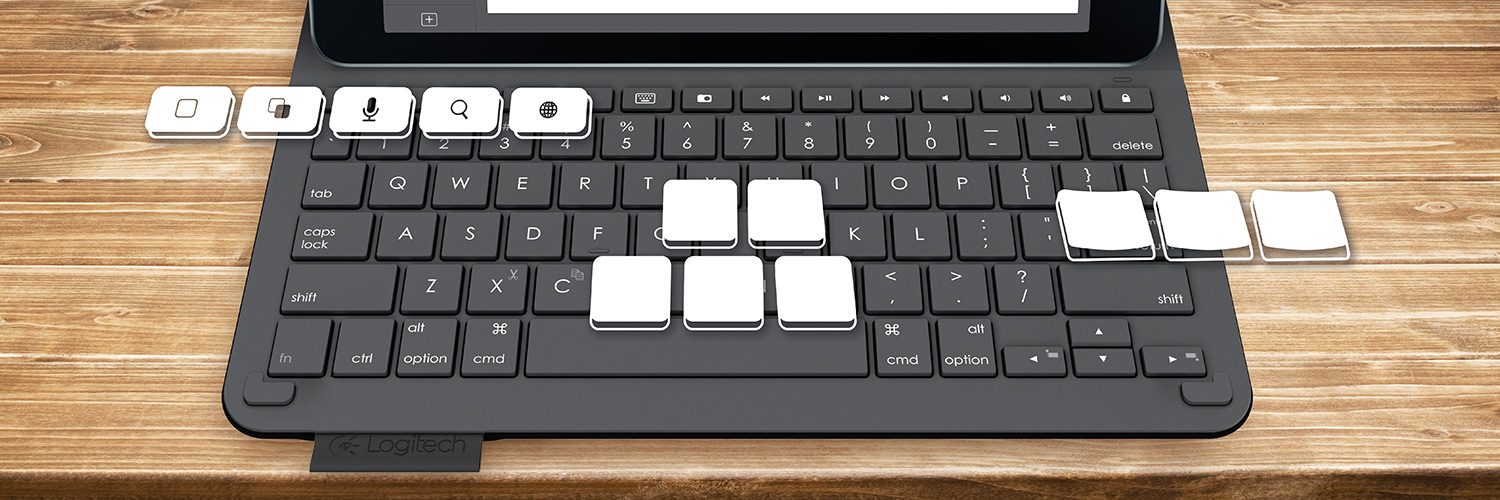 logitech keyboard ipad air 2