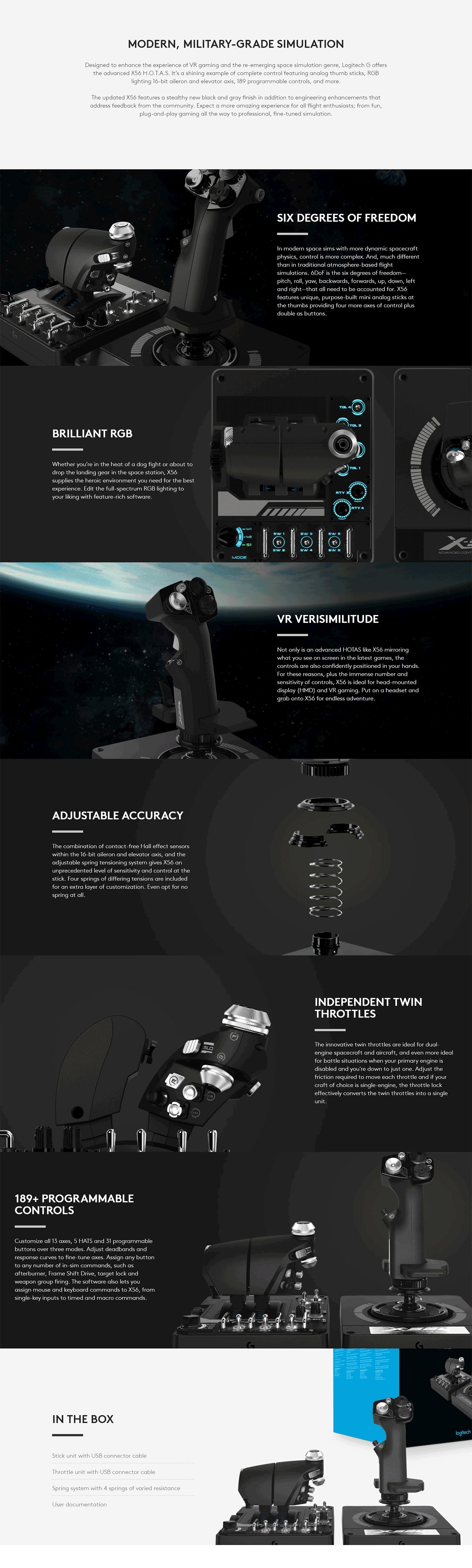 Logitech X56 Controller
