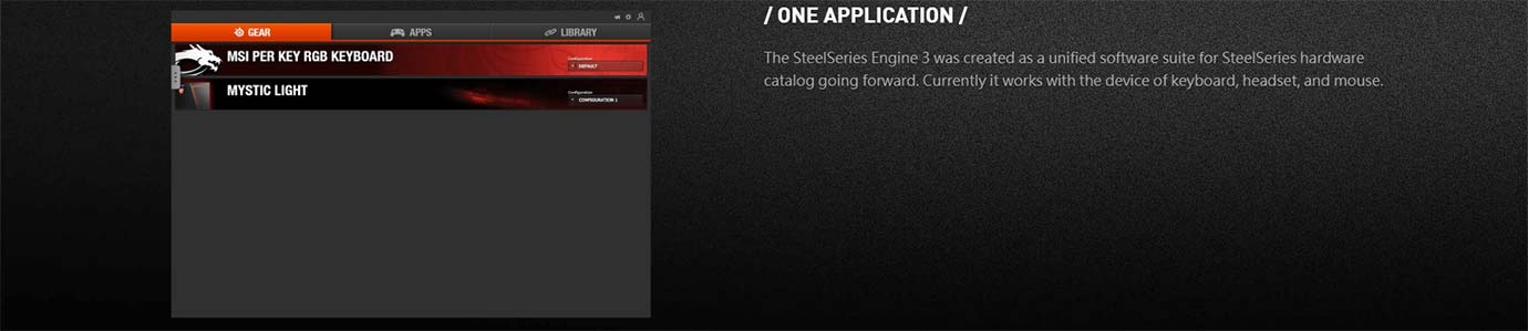 STEELSERIES ENGINE 3
