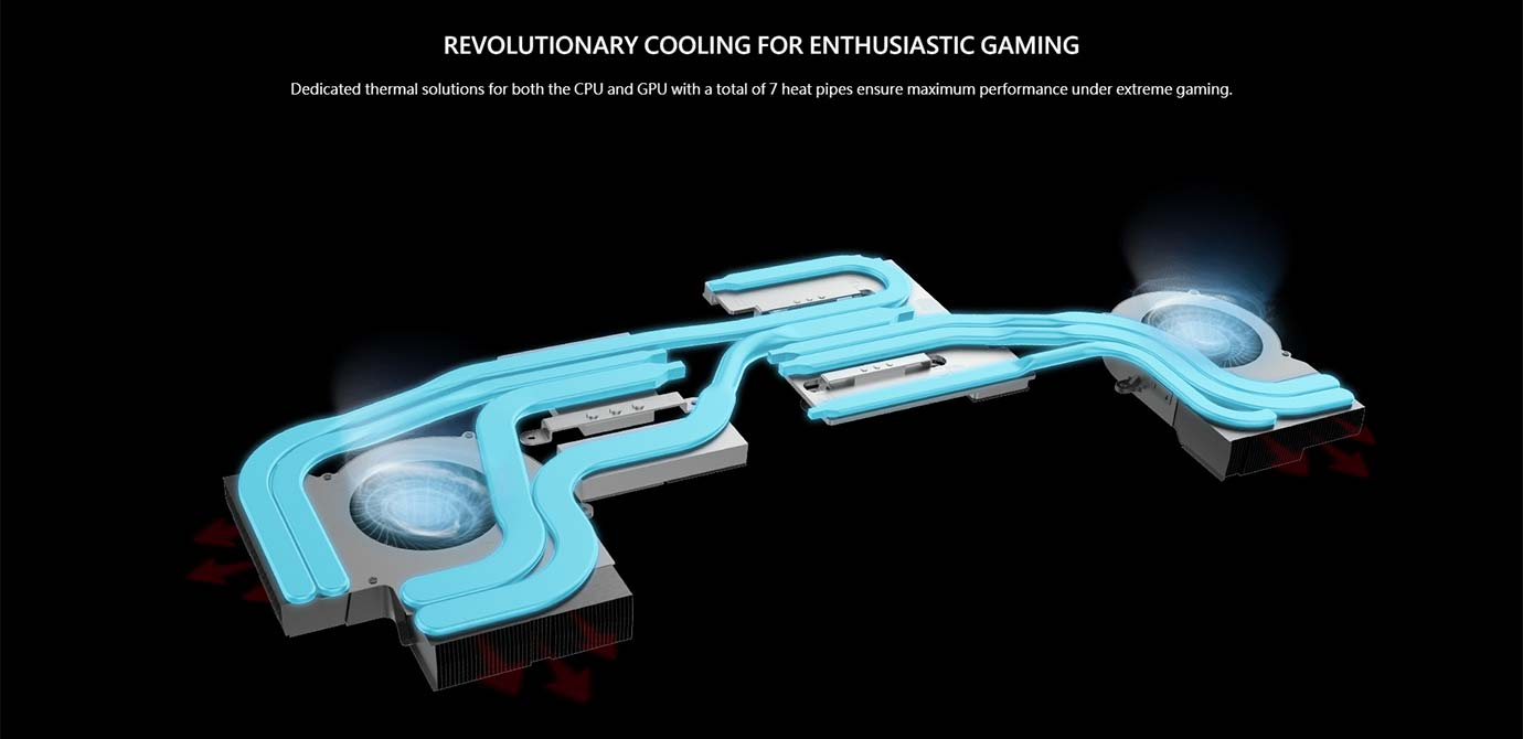 REVOLUTIONARY COOLING FOR ENTHUSIASTIC GAMING