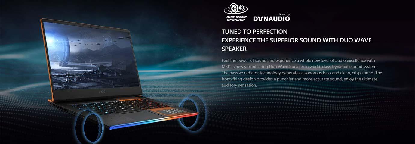 Duo Wave Speaker