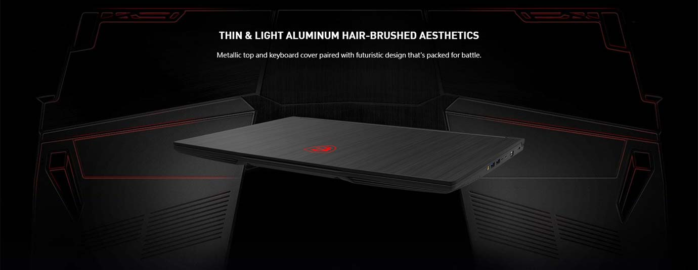 THIN & LIGHT ALUMINUM