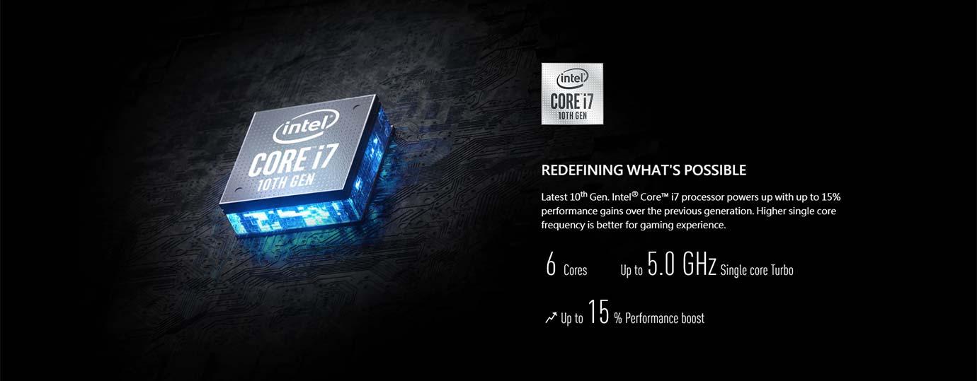 10th Gen. Intel® Core™ i7