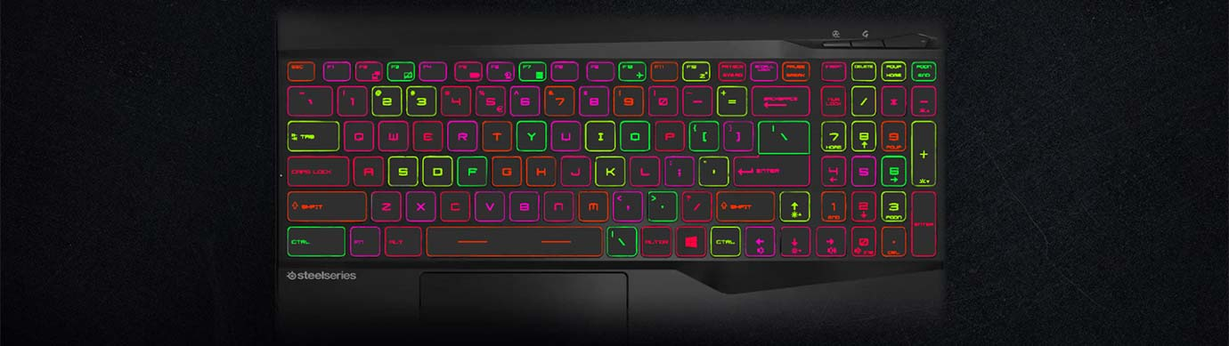 PER-KEY RGB GAMING KEYBOARD