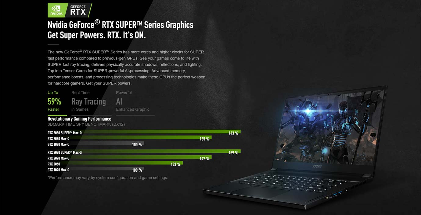 Nvidia GeForce® RTX SUPER™ Series