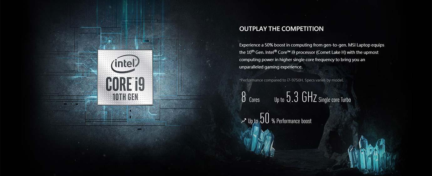 10th Gen. Intel® Core™ i9 processor