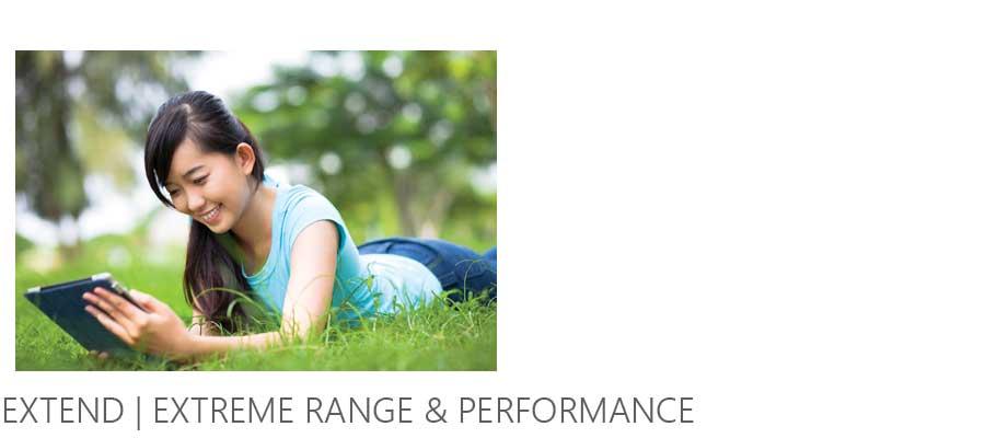 Netgear Extreme Range EX2700 - Extend extreme & Performance