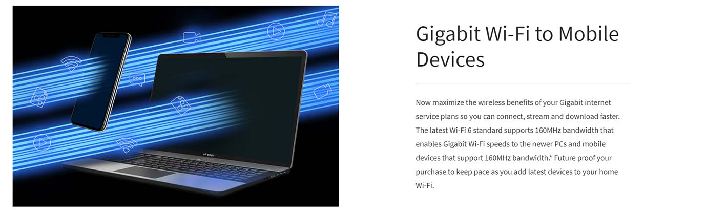 Gigabit Wi-Fi to Mobile Devices