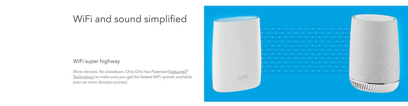 WiFi and sound simplified