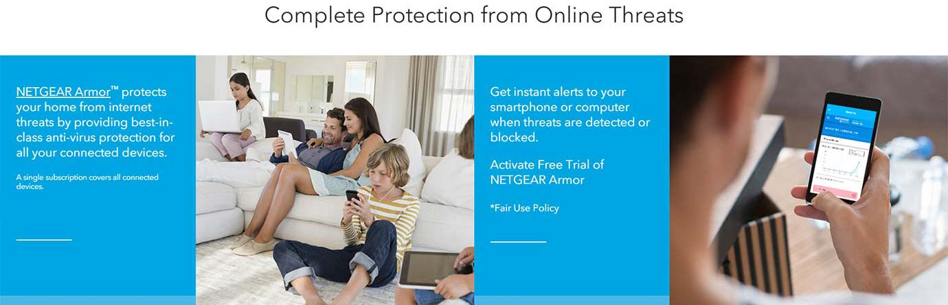 Complete Protection from Online Threats
