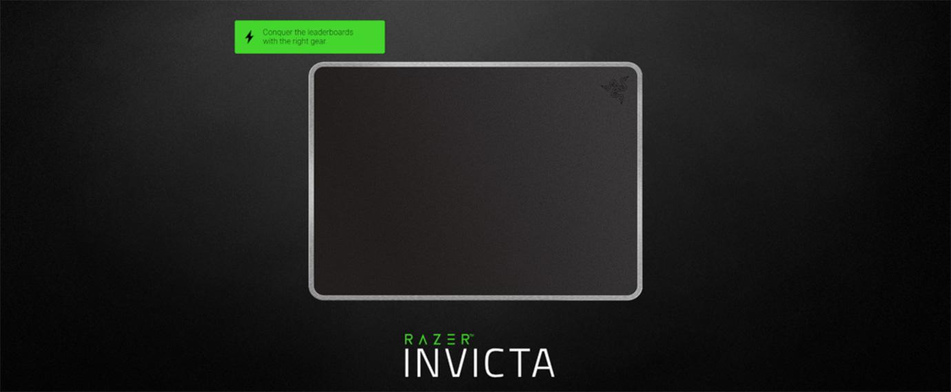 Razer Invicta Gunmetal Edition Mouse Mat