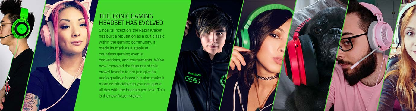 THE ICONIC GAMING HEADSET HAS EVOLVED