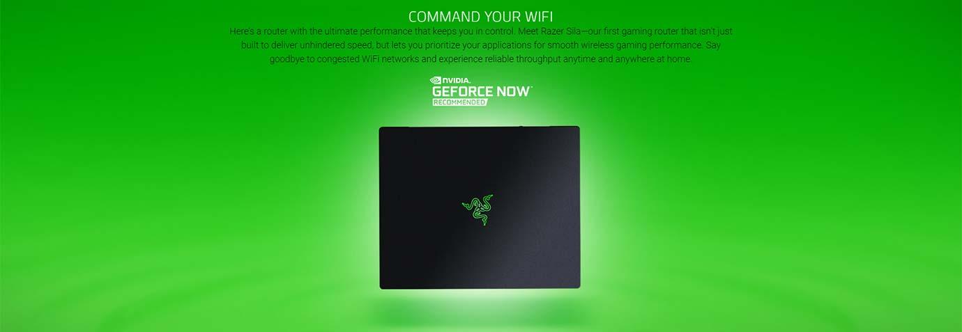 Razer Sila - Command your wifi