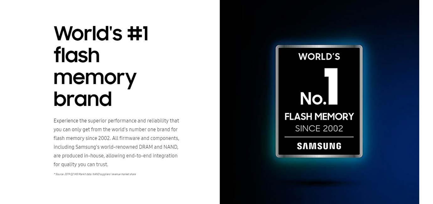 World's #1 flash memory brand