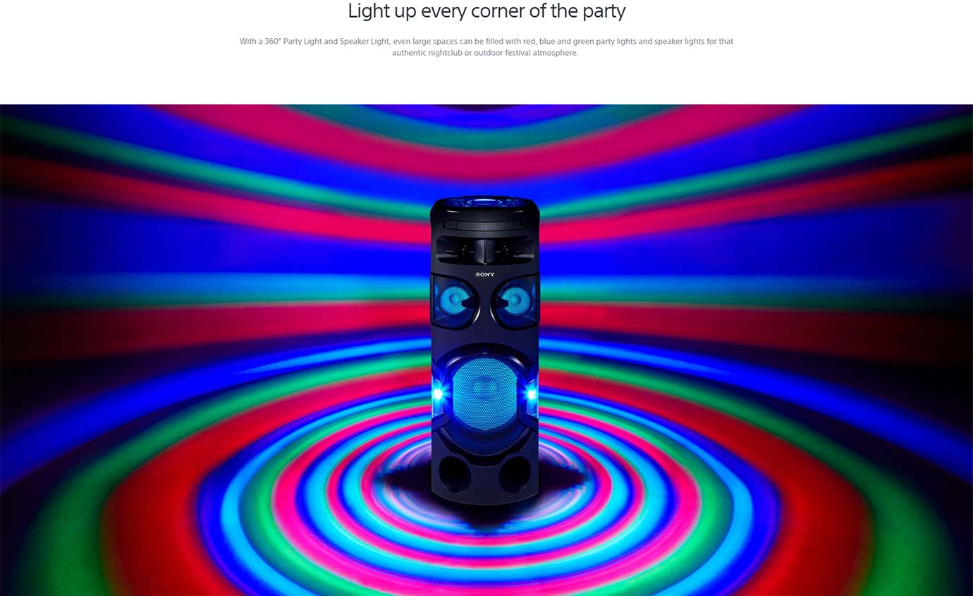Light up every corner of the party