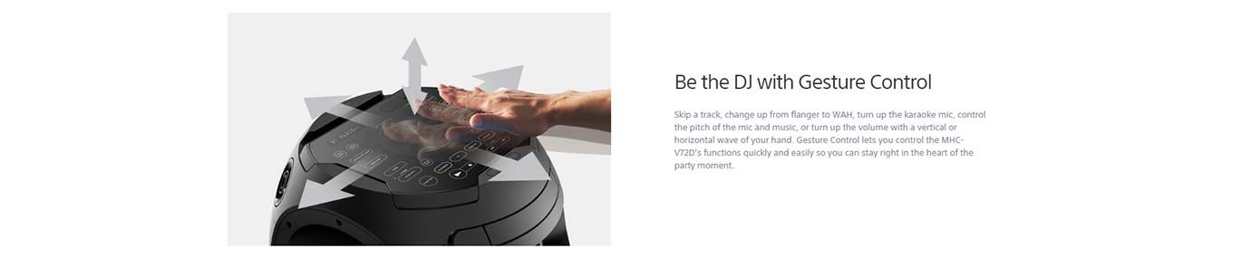 Be the DJ with Gesture Control