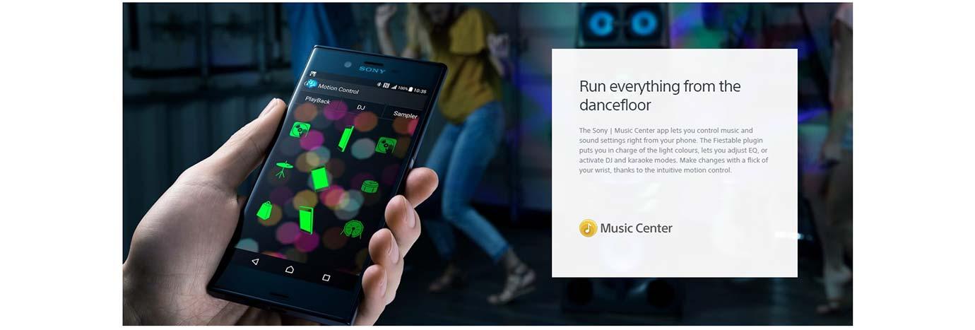 Run everything from the dancefloor