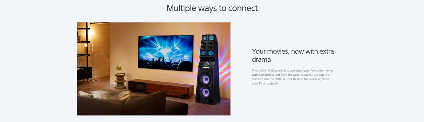Multiple ways to connect