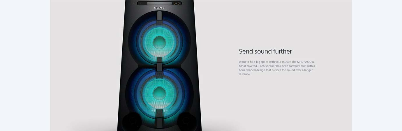 Send sound further