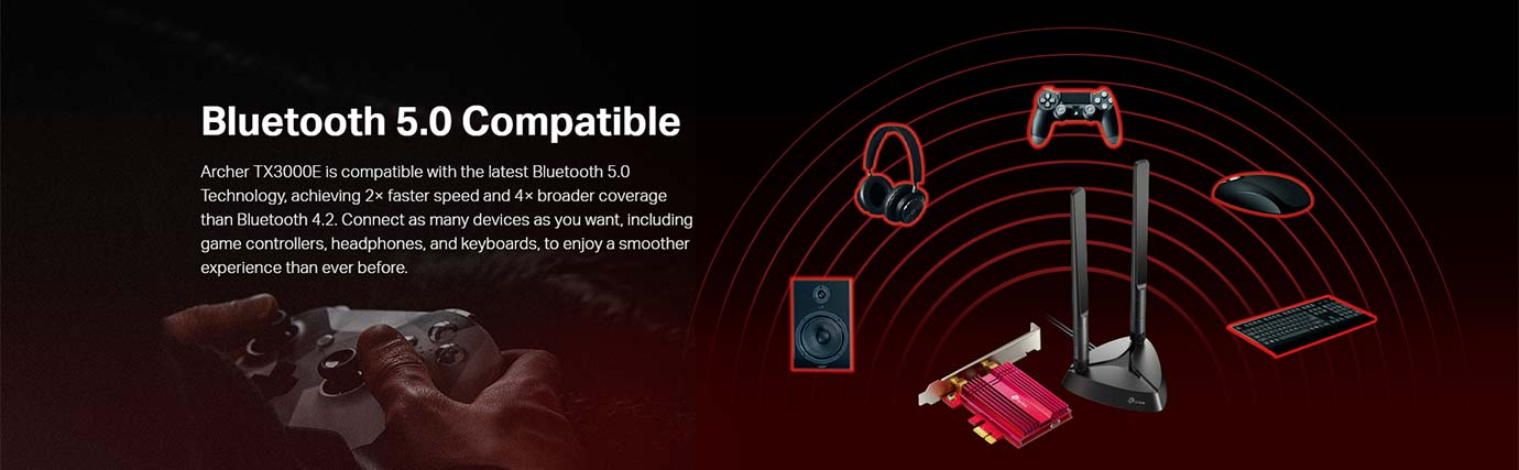 Bluetooth 5.0 Compatible