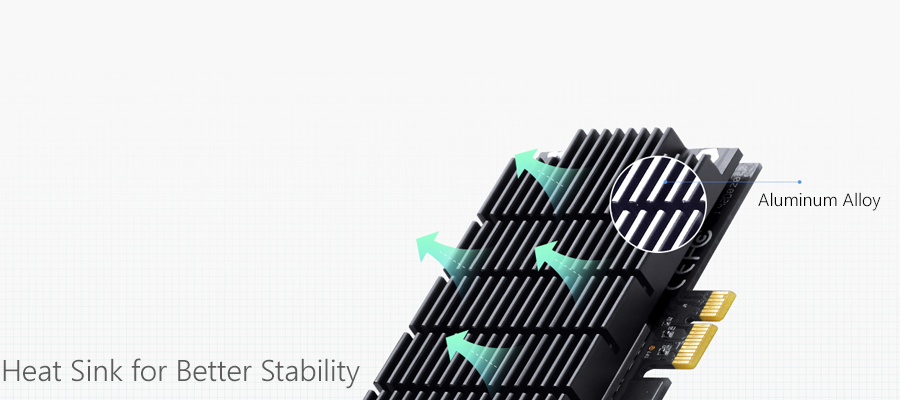 Heat Sink for Better Stability