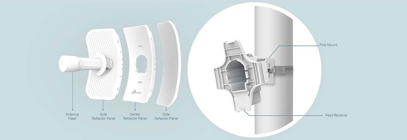 Stable Structural Design and Flexible Installation