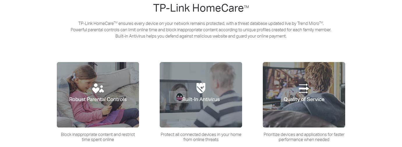 TP-Link HomeCareTM