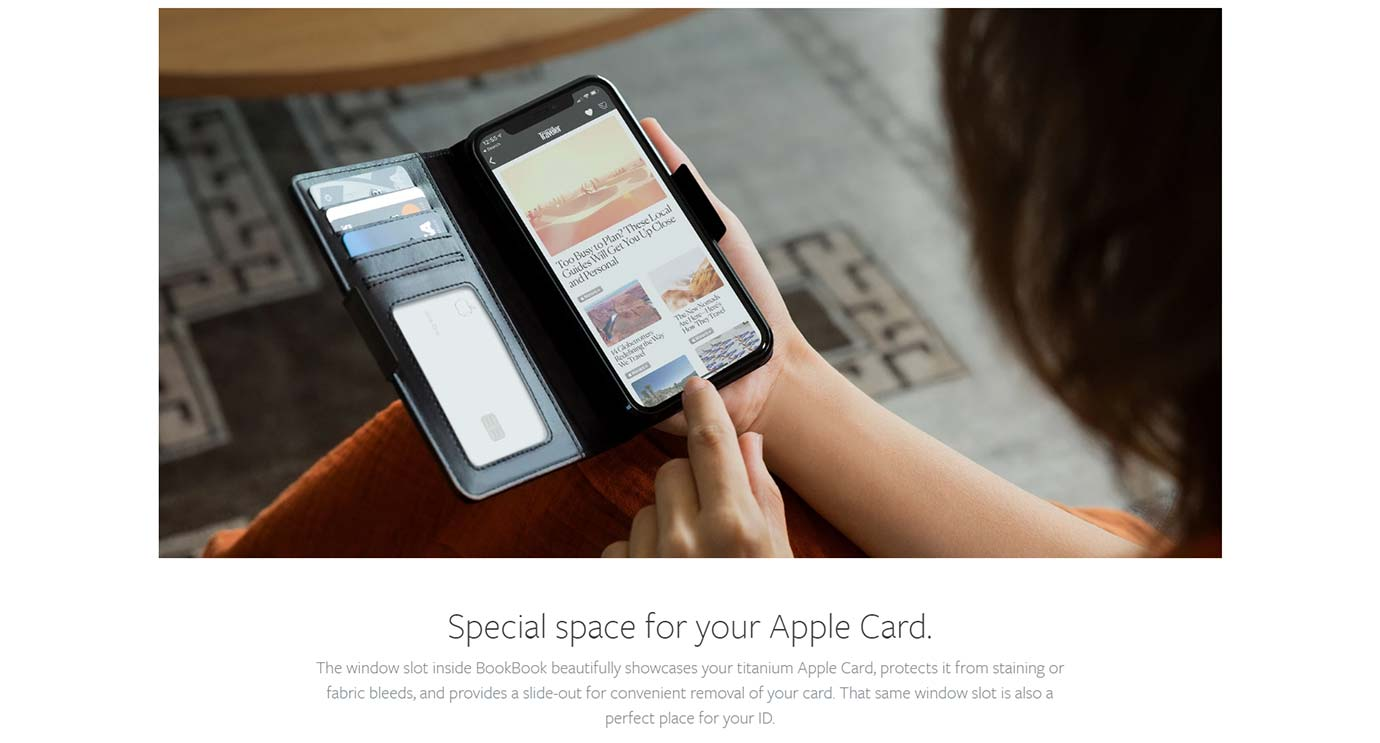Special space for your Apple Card