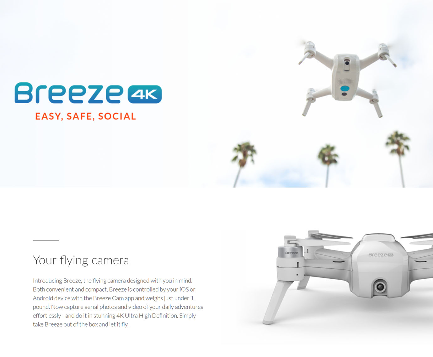 Yuneec Breeze 4K Drone Bundle