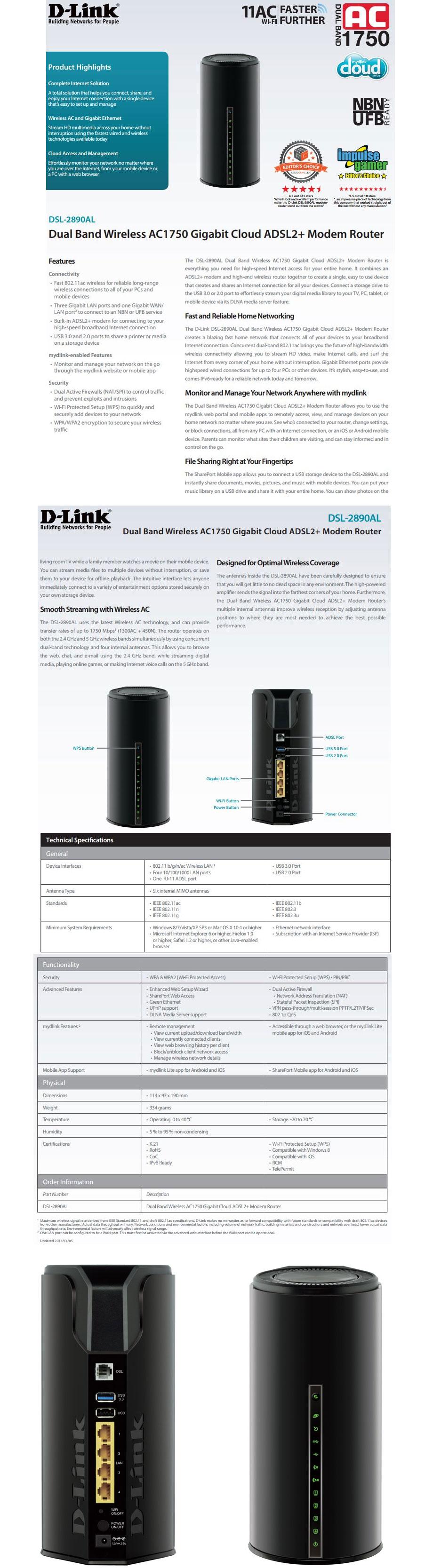 D-Link DSL-2890AL