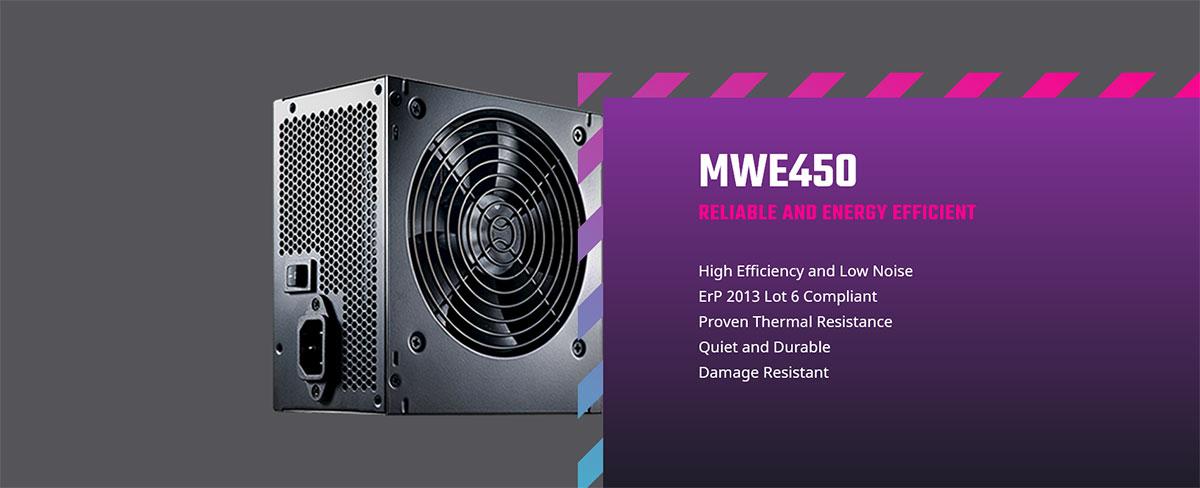 Cooler Master MWE 450W Power Supply MSU MPX-4501-ACAAB-AU Intro
