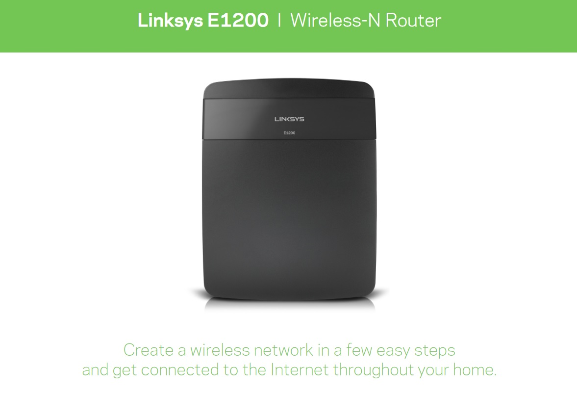 Linksys E1200 Info