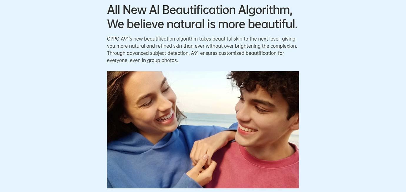 AI Beautification Algorithm