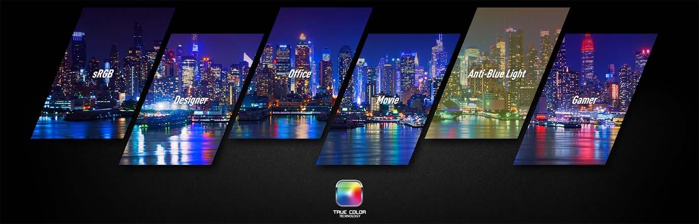 True Colour Technology