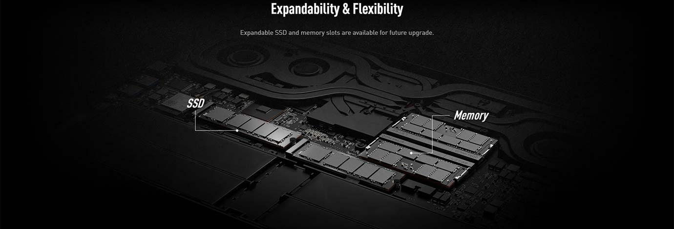 Expandability & Flexibility