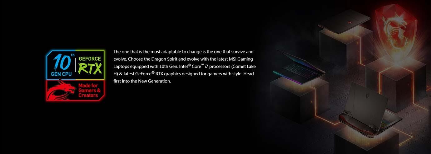 10th Gen. Intel® Core™ i7 processors