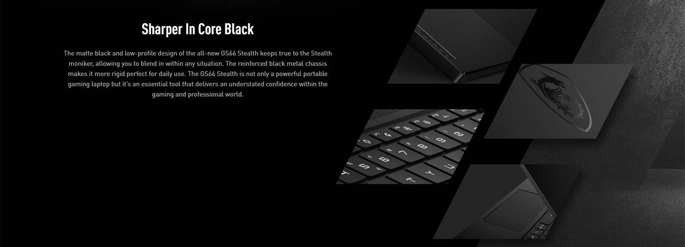 Sharper In Core Black