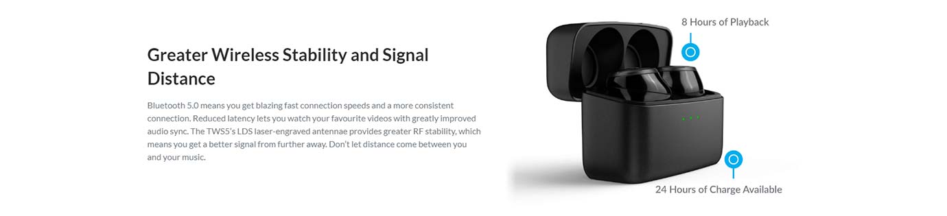 Greater Wireless Stability and Signal Distance