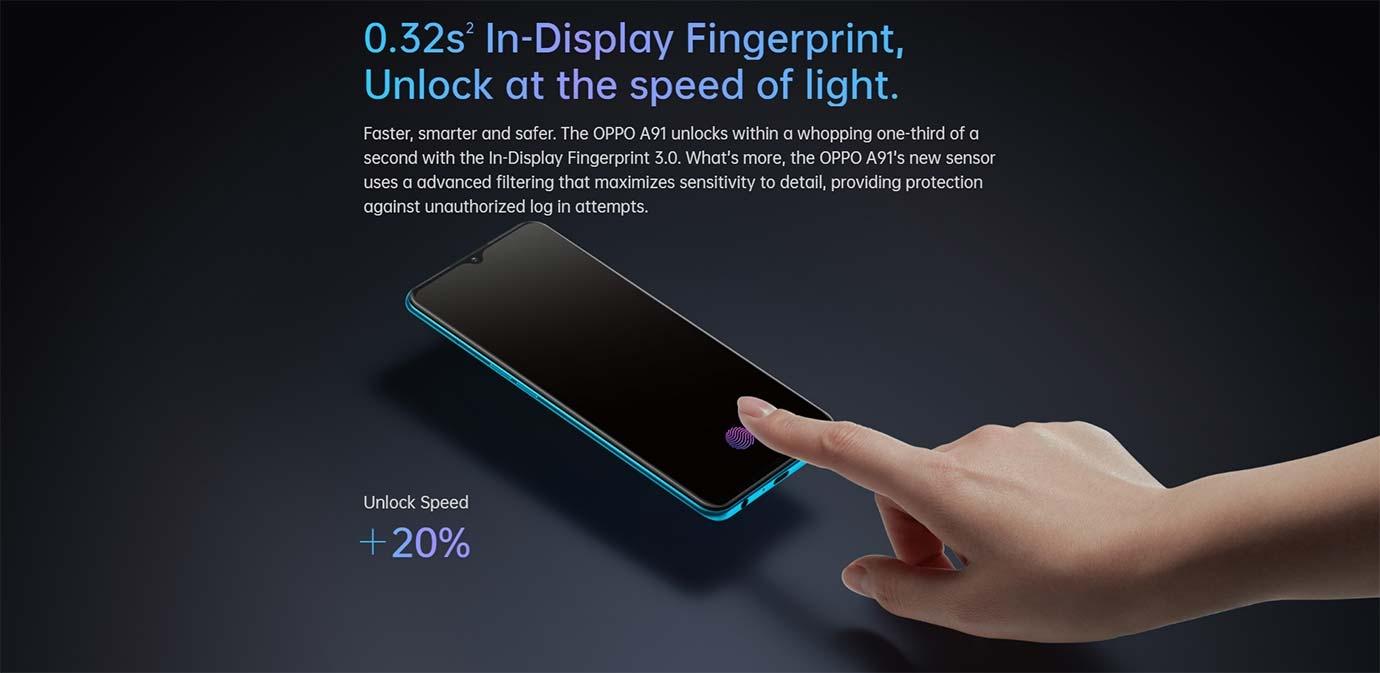 0.32s2 In-Display Fingerprint