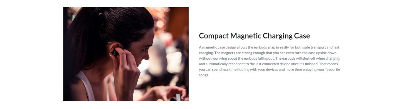 Compact Magnetic Charging Case