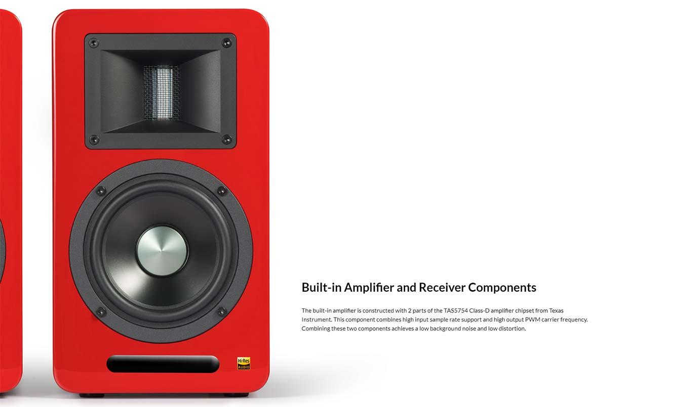 Built-in Amplifier