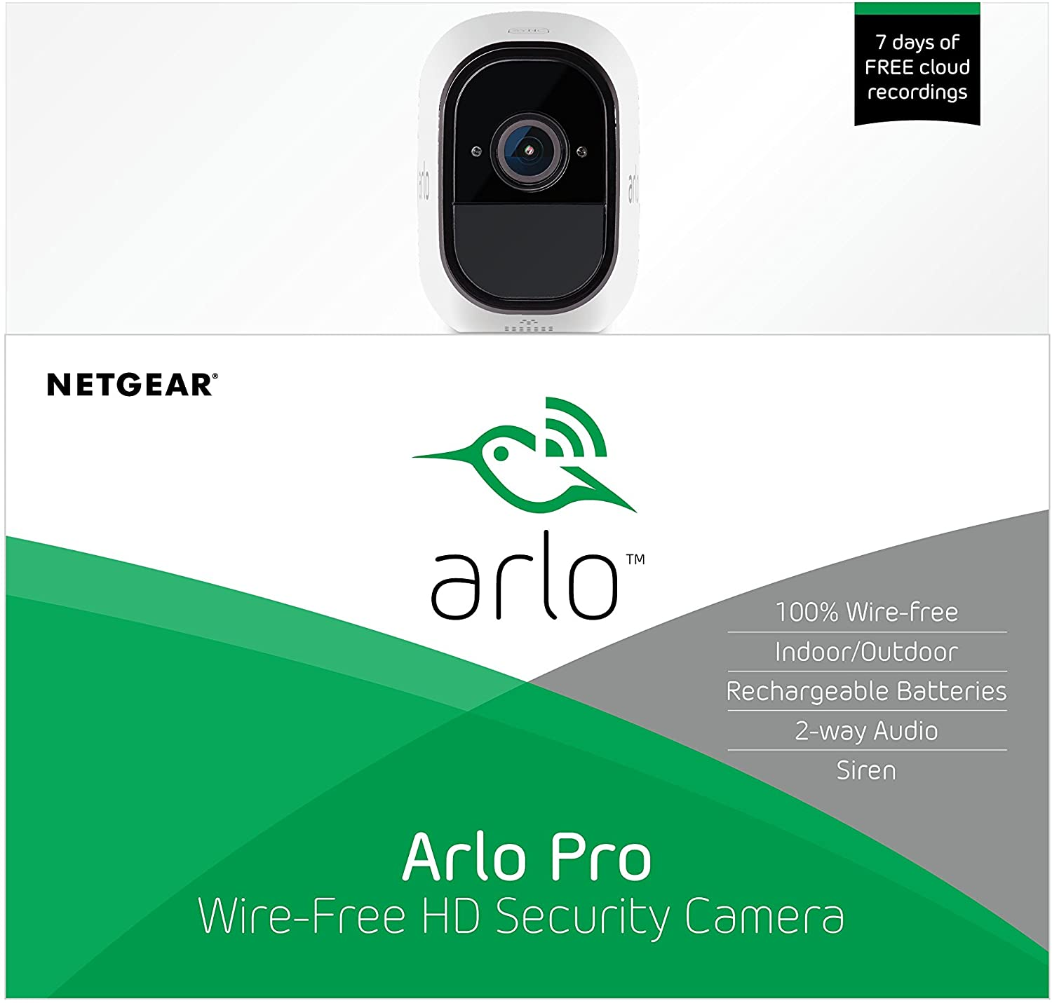 Arlo Pro Wire-Free HD Home Security 2 Camera System VMS4330 Intro