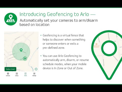 Arlo Pro Wire-Free HD Home Security 2 Camera System VMS4330-100AUS Introducing Geofencing