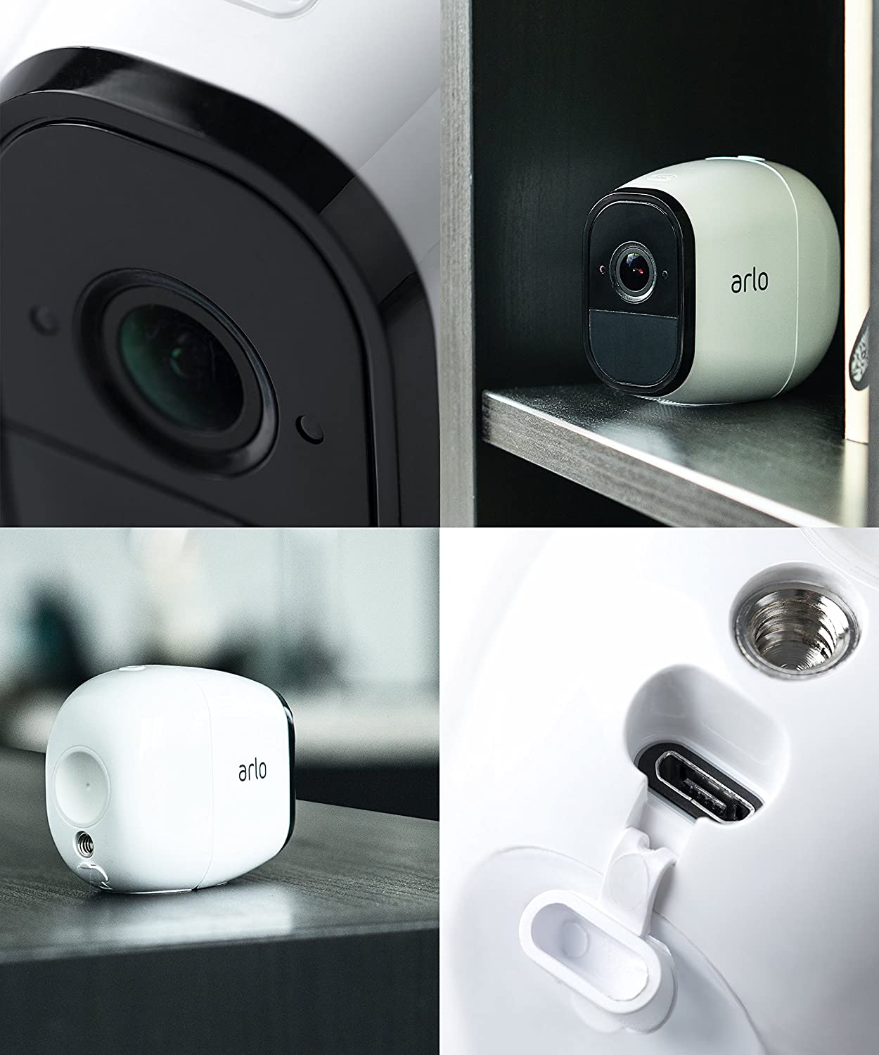 Arlo Pro Wire-Free HD Home Security 2 Camera System VMS4330 Smart Features
