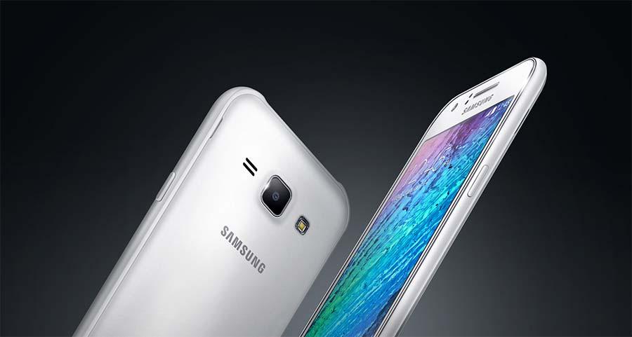 Samsung Galaxy J1 White 4G1