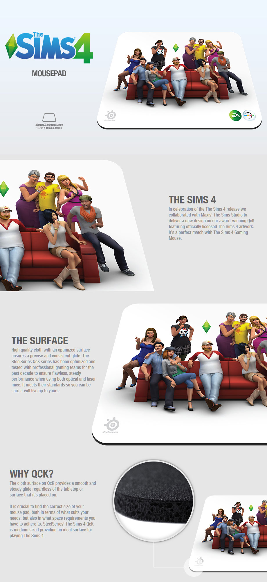 Sims 4 Mouse Pad